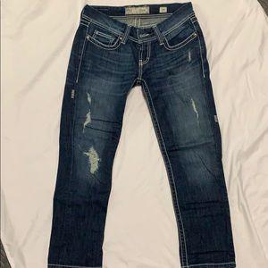 BKE Crop Jeans